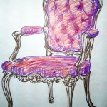 Antique Tufted Chair - Commissioned Work